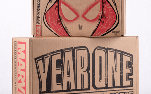 Marvel Collector Corps Year One Super Box – Site Up – Founders Can Order
