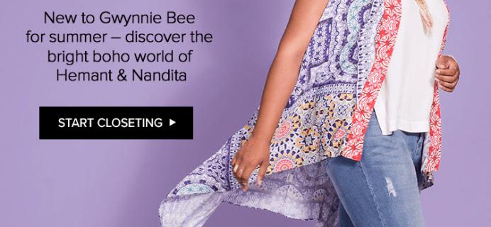 Gwynnie Bee Now Offering Boho Designer Hemant & Nandita  + 30 Day Free Trial!