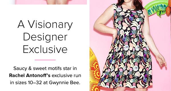 Gwynnie Bee Now Offering Designer Rachel Antonoff  + 30 Day Free Trial!