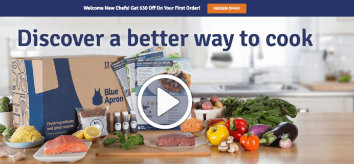 New Blue Apron Deal: First 3 Meals Free!