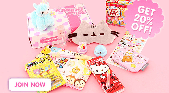 New Kawaii Box Coupon: 20% Off Entire Subscription!
