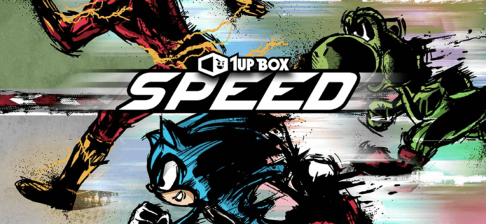 1Up Box August 2016 Spoilers: SPEED + Coupon!