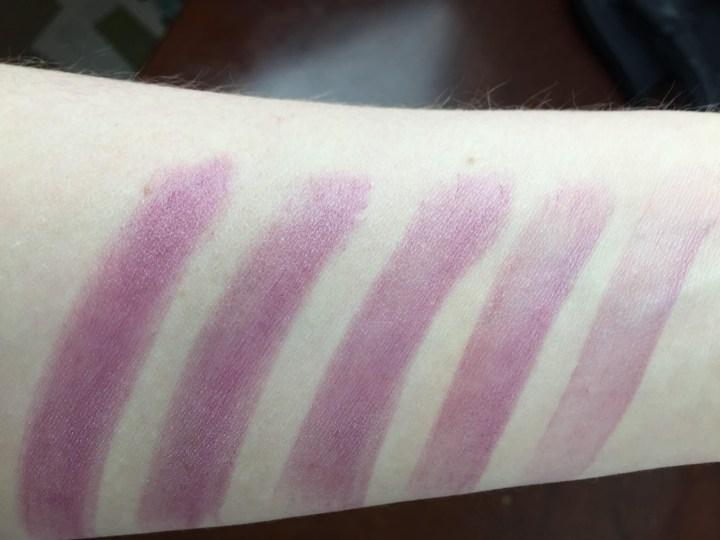 julep beauty box july 2016 lip sheer swatch