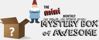 Mini Monthly Mystery Box of Awesome Deal: Free Fidget Spinner!