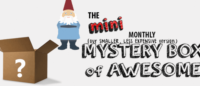 Mini Stay Regular Monthly Mystery Box October 2016 Spoiler