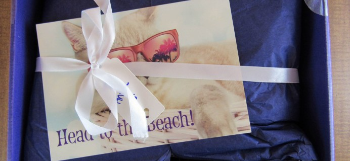 My Purrfect Gift Box June 2016 Subscription Review + Coupon