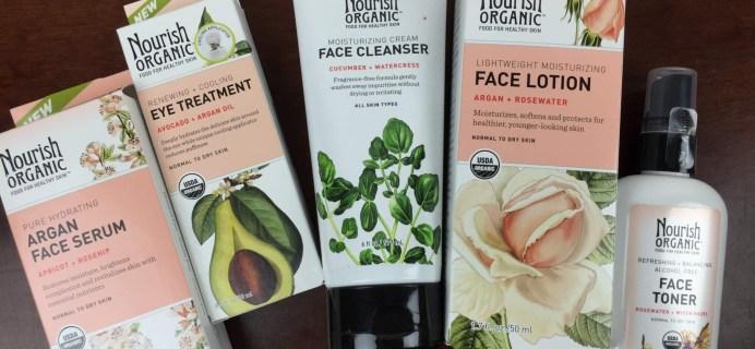 Nourish Organic Face Regimen Mini-Review + Birthday Giveaway!