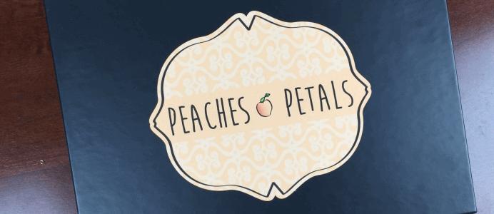 Peaches & Petals November 2016 Spoiler + Coupons