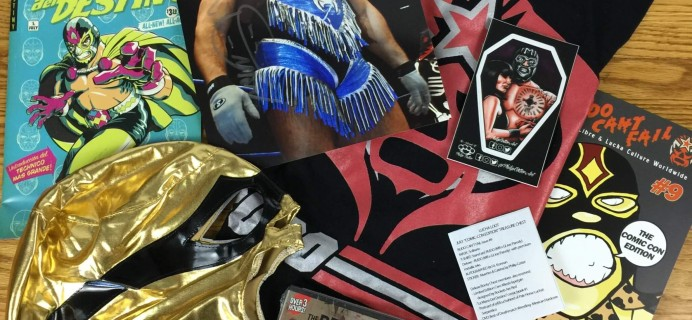 Lucha Loot Subscription Box Review & Coupon – July 2016