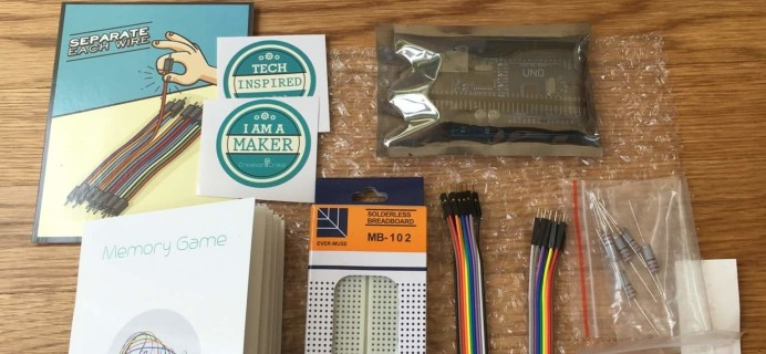 Creation Crate August 2016 Subscription Box Review + Coupon