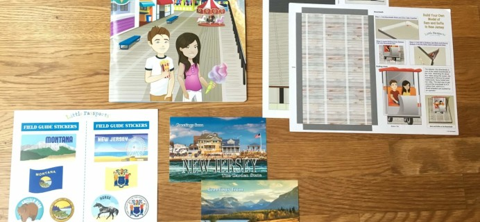 Little Passports USA Subscription Box Review + Coupon – New Jersey & Montana
