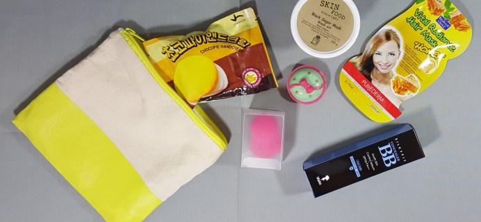June 2016 Beauteque BB Bag Subscription Box Review + Coupon