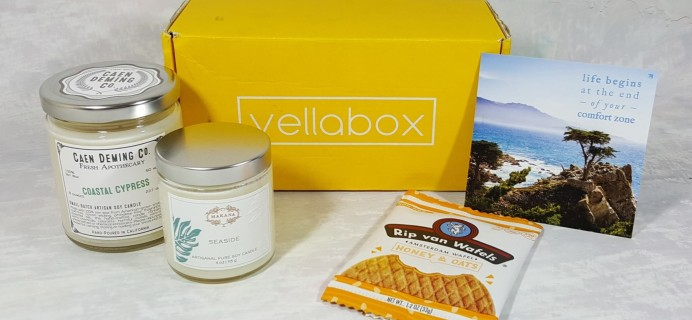 Vellabox Candle Subscription Box Review – August 2016