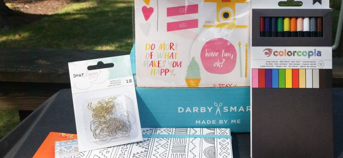 Darby Girl Subscription Box Review – August 2016
