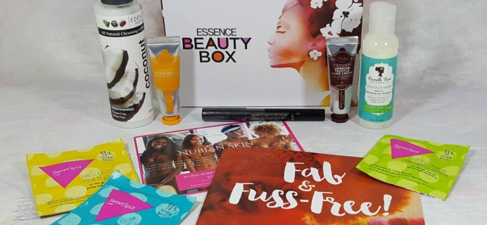 Essence Beauty Box August 2016 Subscription Box Review