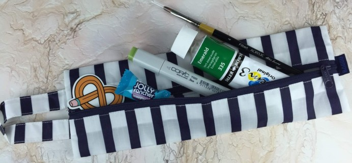 Art Snacks August 2016 Subscription Box Review