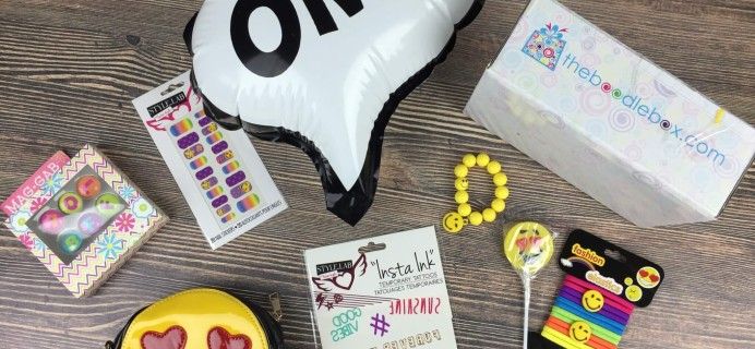 Boodle Box September 2016 Subscription Box Review