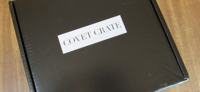Covet Crate July 2016 Subscription Box Review + Coupon