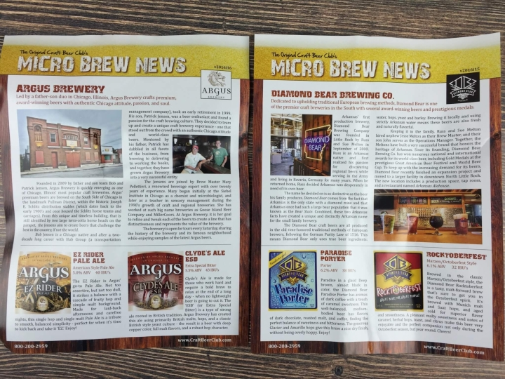 Craft Beer Club August 2016 (1)
