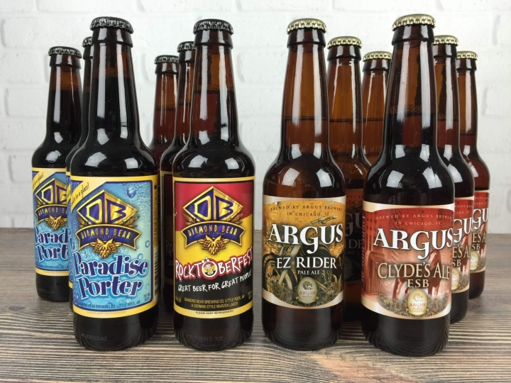 Craft Beer Club August 2016 review