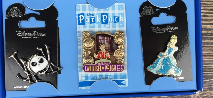 Disney Park Pack August 2016 Subscription Box Review – Pin Trading Edition
