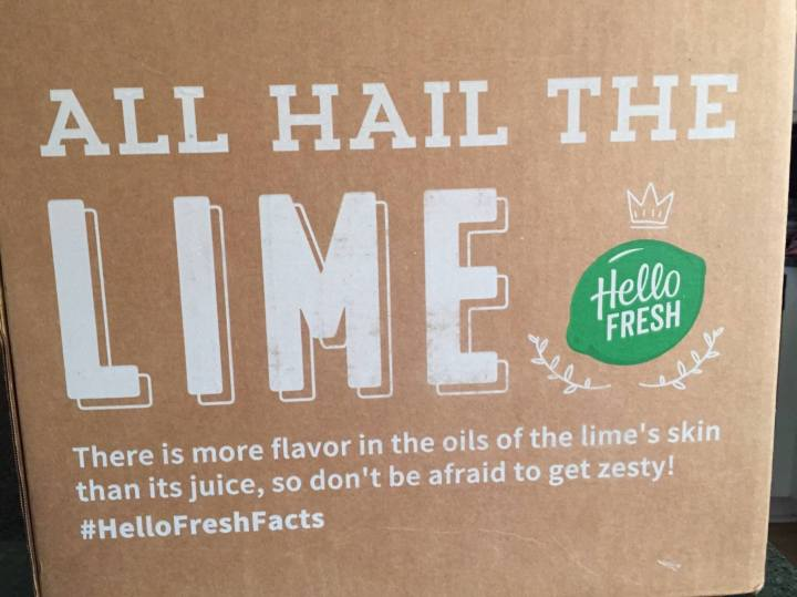 Hello Fresh Veggie Box August 2016 (2)