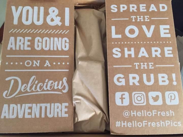 Hello Fresh Veggie Box August 2016 (4)
