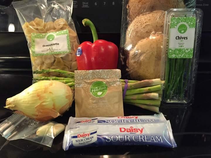 Hello Fresh Veggie Box August 2016 (7)