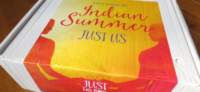 JustUsBox Subscription Box Review – August 2016