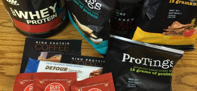 Pretty Fit August 2016 Subscription Box Review & Coupon