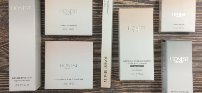Honest Beauty Bundle Subscription July 2016 Review