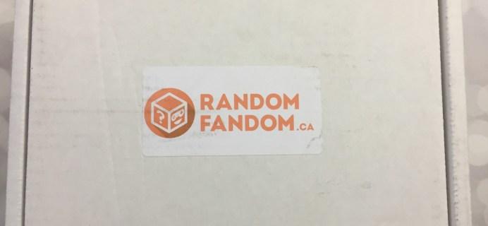 Random Fandom August 2016 Steven Universe Box Review