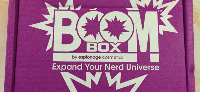 EC BOOM! Box August 2016 Subscription Box Review & Coupon