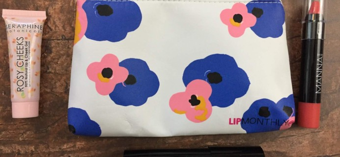 Lip Monthly August 2016 Subscription Box Review & Coupon