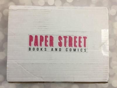 Paper Street Books August-September 2016 Subscription Box Review