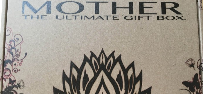 Mother: The Ultimate Gift Box Subscription Box Review + Coupon – August 2016
