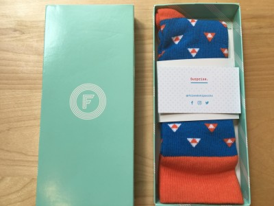 Friendship Socks August 2016 Subscription Box Review