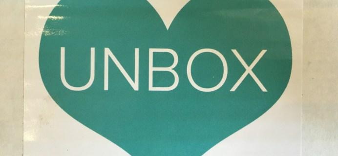 Unbox Love August 2016 Subscription Box Review