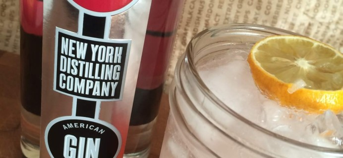 Mouth: Gin Every Month August 2016 Subscription Box Review + Coupon