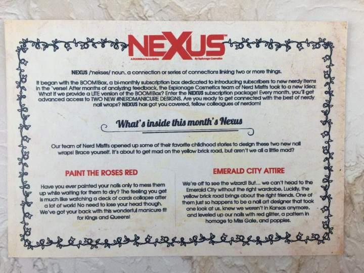 Nexus by Espionage Cosmetics August 2016 (5)