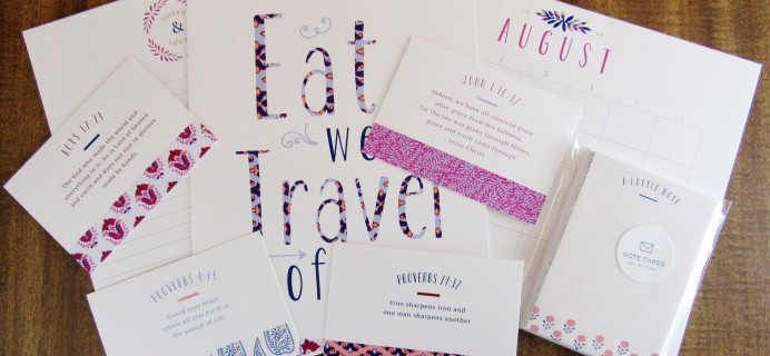 Paper Works Subscription Box Review & Coupon – July 2016