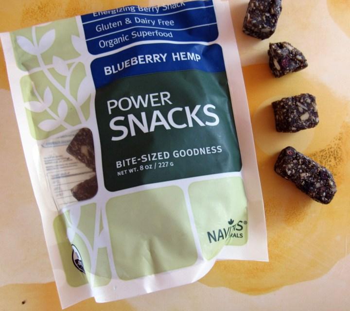 Nativas Naturals Blueberry Hemp Power Snacks