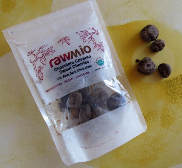 Rawmio Chocolate Covered Sweet Cherries