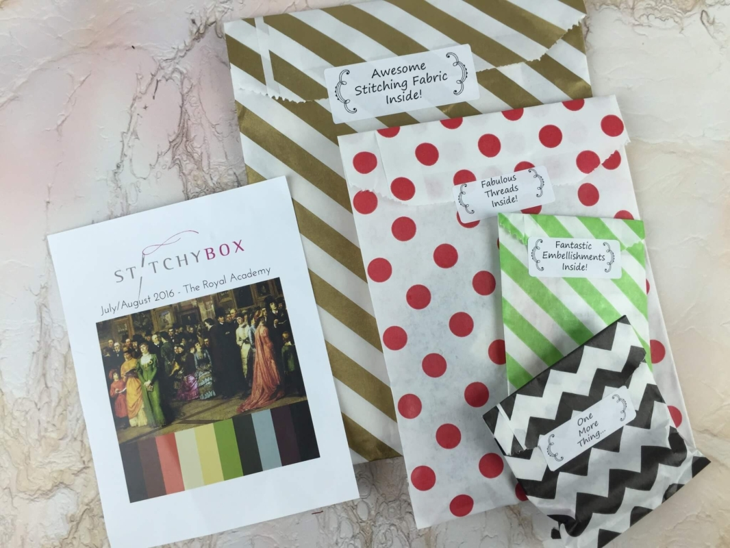 Stitchy Box July-August 2016 review