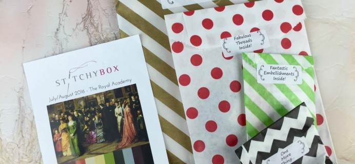 Stitchy Box July-August 2016 Subscription Box Review & Coupon