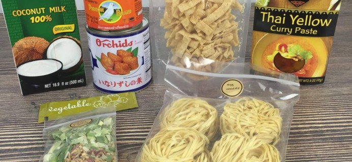 Takeout Kit August 2016 Subscription Box Review