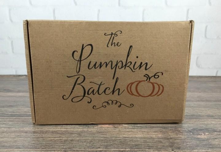 The Pumpkin Batch August 2016 box