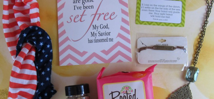 The Believer's Box July 2016 Subscription Box Review & Coupon