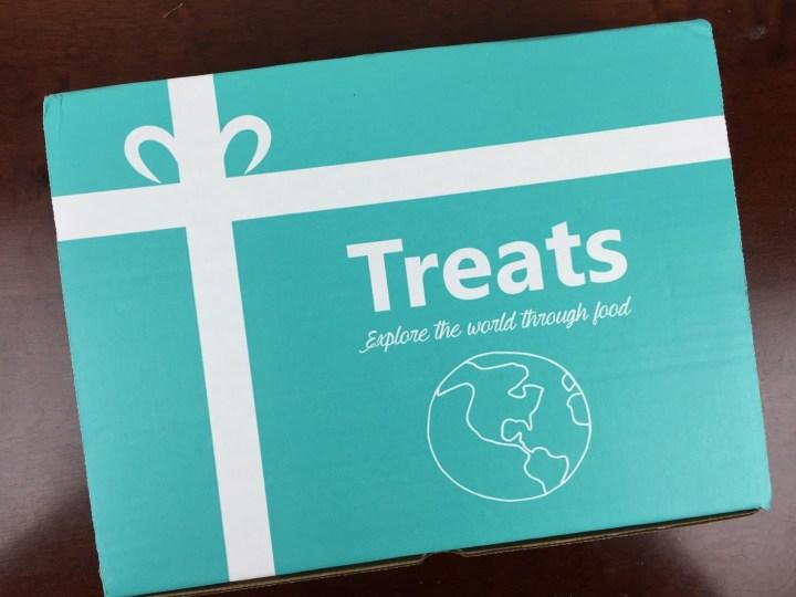 Treats Box July 2016 box