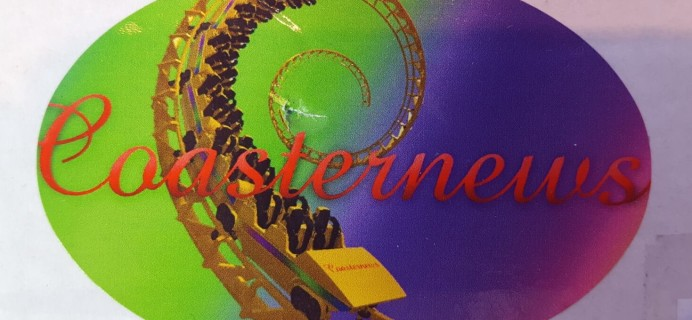 Coasternews August 2016 Subscription Box Review + Coupon